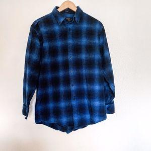 Pendleton Mason Blue Oxford Flannel